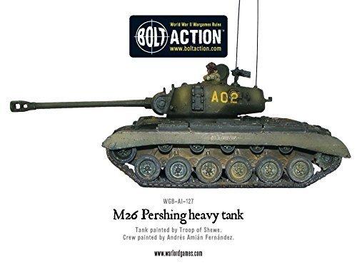 M26 Pershing Tank Miniature