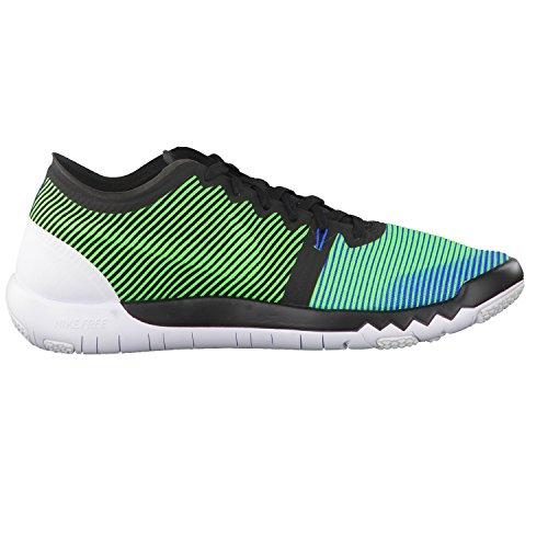 Nike Mens Free Trainer 3.0 V4 Scarpe Da Allenamento Nero / Verde Strike-soar-white