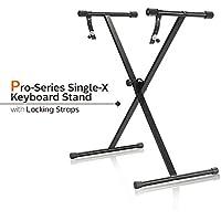 PARTYSAVING Pro Series Portable Single-X Keyboard Stand...