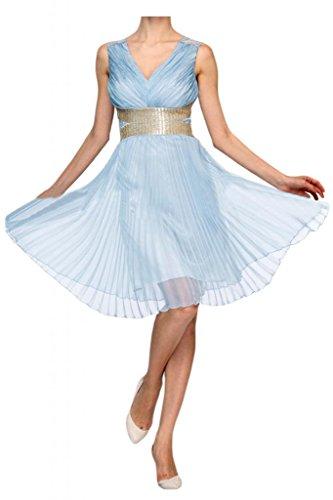 sera Chiffon per abiti decorazioni Narciso donna Pageant in da da Spaghetti per per Sunvary wvBqd0Iq