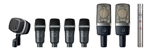 AKG Drum Set Premium Reference Drum Microphone Set