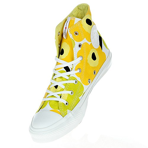 Converse - Converse AS Marimekko Hi Cotton, amarillo lima Mujer Amarillo - gelb