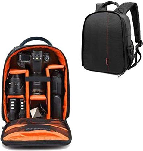 Priyam® New Series Waterproof DSLR Backpack Camera Bag, Lens Accessories Carry Case for All Camera Bags & Others-Made in India
