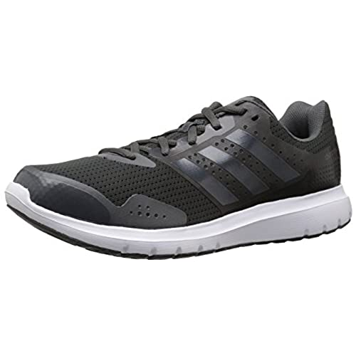 Adidas Adiprene + plus Black & White Orange Running Training Shoes Men's 8