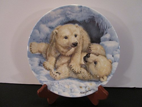 """Polar Bear Cubs"" by Royal Grafton Plate"