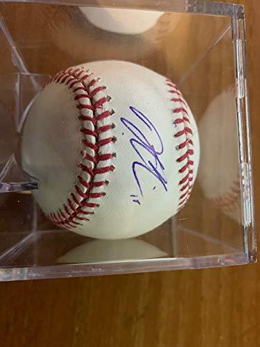- Dustin Pedroia Autographed MLB Baseball Signed on Horseshoe
