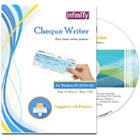 Infinity Cheque Writer - Cheque Writing/Printing Software (CD)