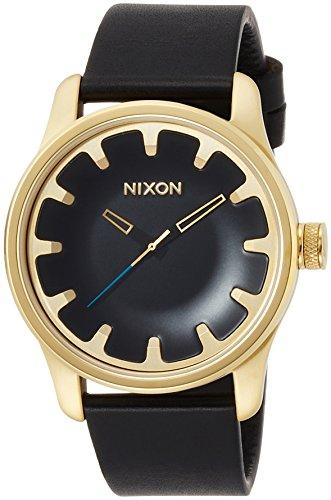 [ニクソン]NIXON DRIVER LEATHER: GOLD/BLACK NA981513-00 メンズ