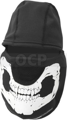 Schampa Skull Balaclava - Schampa Fleeceprene Balaclava Skull mesh nose New BLCLV100 2015 model