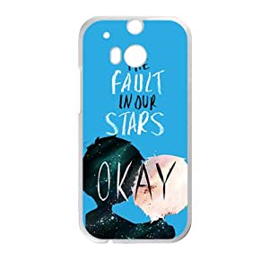 SANLSI The Fault in Our Stars Okay? Okay Printed Cell Phone Case for HTC One M8
