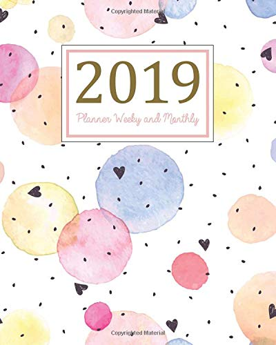 2019 Planner Weekly and Monthly: A Year - 365 Daily - 52 Week Journal Planner and Notebook, Daily Weekly and Monthly Calendar, Agenda Schedule ... ,(January 2019 to December 2019)(Vol 12) Paperback – April 13, 2018 Ariana Planner 1987783255 Performing Arts