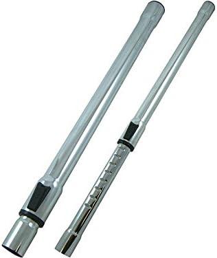 Tubo telescópico, tubo de aspiración, conexión Ø 32 mm |se adapta a todas las aspiradoras comunes, etc. AEG BOSCH DIRT DEVIL EIO ELECTROLUX MIELE PHILIPS ROWENTA SIEMENS (Nota: sin función de clic)