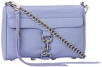 Rebecca Minkoff Mini MAC Convertible Cross-Body Handbag,Lilac,One Size