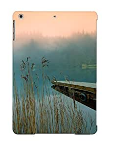 Top Quality Protection Pier At The Lake Case Cover For Ipad Air With Appearance/best Gifts For Christmas Day