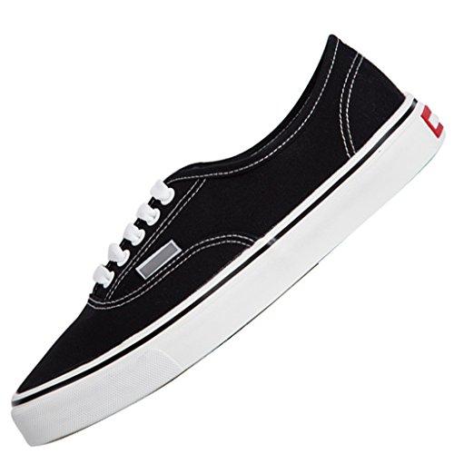 stile scarpe per scarpe Scarpe Color Scarpe basse Blue da uomo casual Black uomo YaNanHome scarpe coreano Espadrillas uomo da aiutare 41 da Size terra basse da basse xZOHTTq