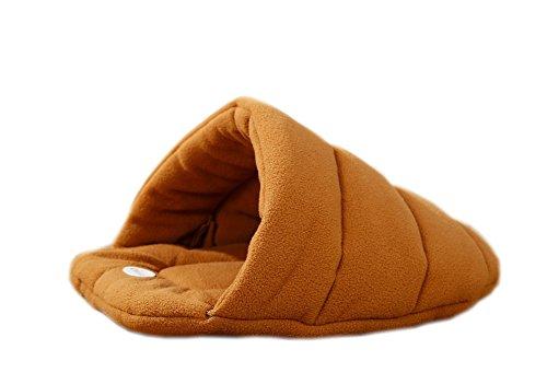 Loucoy Pet House Removable Slipper Shape Bet Beige L