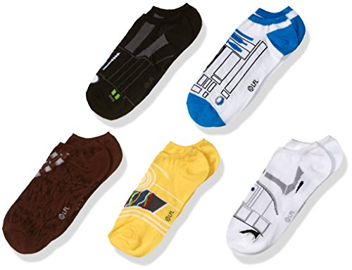Disney Boys Star Wars 5 Pack No Show Socks