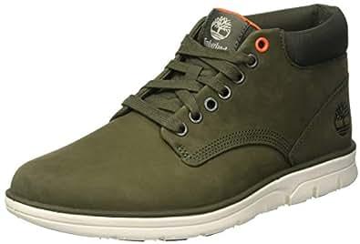 Timberland Men's Bradstreet Chukka Boots, Green (Grape Leaf Nubuck W/Ripstop A58), 7 (41 EU),TB0A1TVM