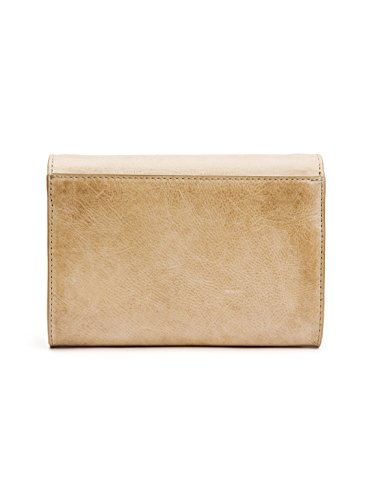 Leather Bag Crossbody Melissa Sand FRYE Clutch Wallet H0UqwI