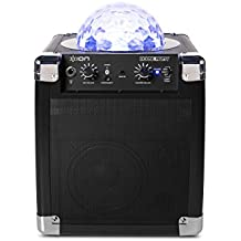 ION Audio House Party (iPA18L)   Portable Sound System with Built-In Light Show (Black / 8W)
