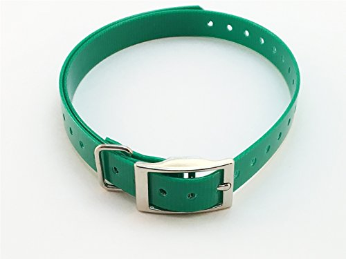 Sparky PetCo 3/4″ Replacement Dog Square Buckle Collar for Garmin Delta, Sportdog, PetSafe & Bark Limiter Devices, Green Review