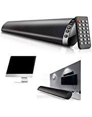 20W Bluetooth 5.0 Wireless TV Hifi Speaker Home Theater Surround Sound System Wall-Mounted USB Sound Bar