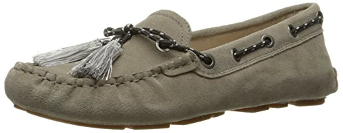 Zapato Fantine Boat para mujer, Dusty Blue Suede, 10 M US