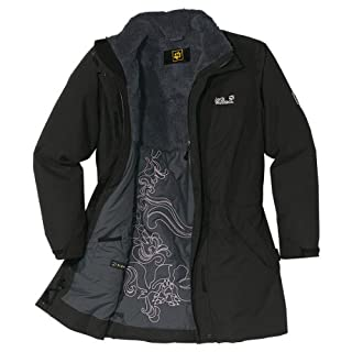 JACK WOLFSKIN 5th Avenue Coat, black (Size: XS) (B000YGA8HU