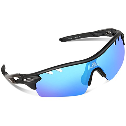 HODGSON TAC Gradient Lenses Sunglasses, Polarized for Men Women, Tr90 Unbreakable Sports Glasses for Cycling, Riding, Driving, and Other Outdoor - Sunglasses Lenses Hodgson