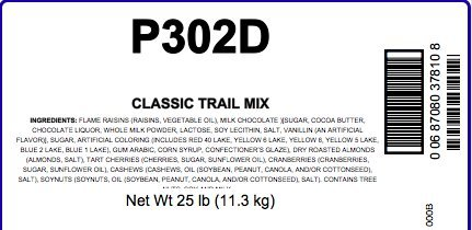Classic Trail Mix, 25 Lb Bag by Woodland Ingredients (Image #1)