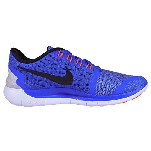 Black Femme Azul Blue Nike Free De 5 racer Bleu Entrainement Blue Chaussures chlk 0 Running wht x70Hwgn7fq