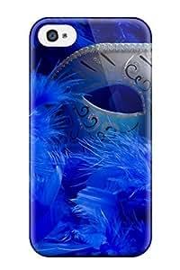 1024434K26365931 Iphone 4/4s Hybrid Tpu Case Cover Silicon Bumper Masquerade Mask
