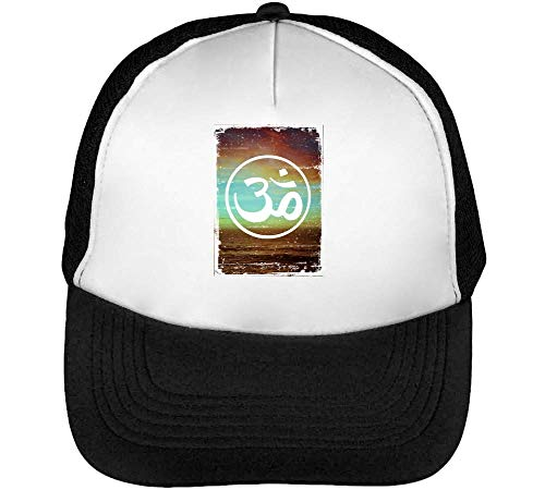 Sound Of The Universe Gorras Hombre Snapback Beisbol Negro Blanco