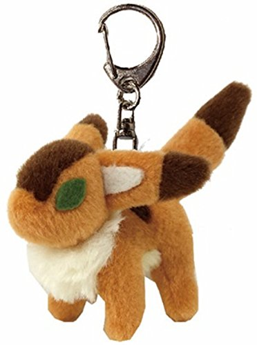 Studio Ghibli Fox squirrel soft plush toy key ring