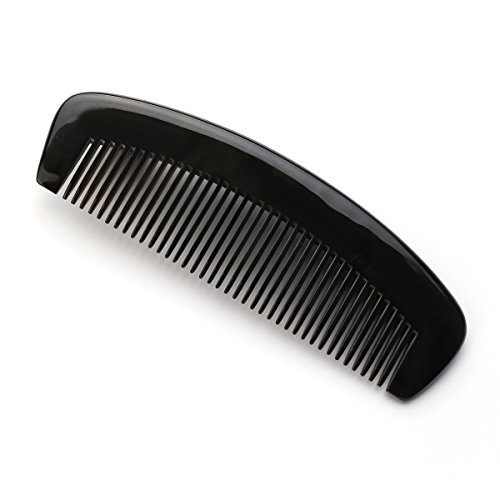 Exquisite Natural Ox Horn Hair Comb 100% Handmade Premium Quality Anti-Static Comb Without Handle - Horn Comb