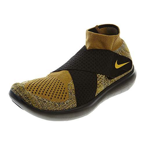 Free 2017 Shoe Mineral Running Beige Nike Flyknit Men's RN Gold Golden CwIHTq