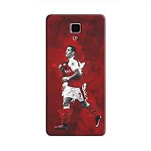 Cover It Up - Alexis Sanchez Red Mi4 Hard Case