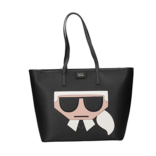 Mujer Negro Lagerfeld Commerciale 84kw3031 Karl t0gwROqnA