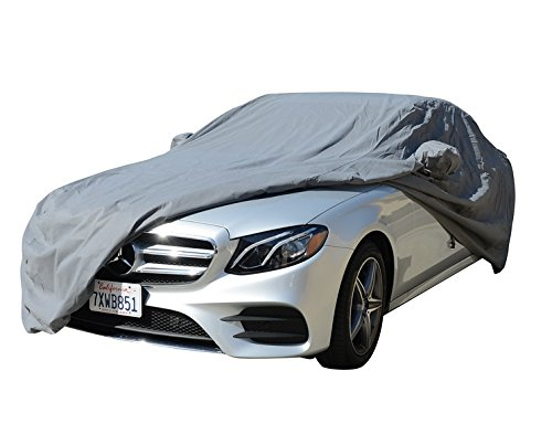 CAR COVER Chrysler 200 Sedan Coupe Convertible 2011 2012 2013 2014 2015 Car Accessories, Indoor Outdoor Protection Dust Cover Vehicle Accessories with Pocket Mirror (Space Gray) (Best Lacrosse Gloves 2019)