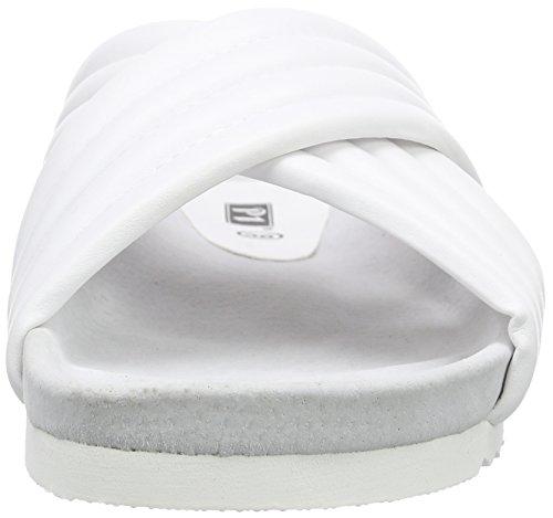 Sandales Femme Blanc Ouvertes 120004 P1 vqnwzB5X