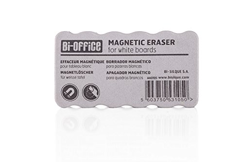 Amazon.com : Bi-Office Light-Weight Magnetic Board Eraser ...