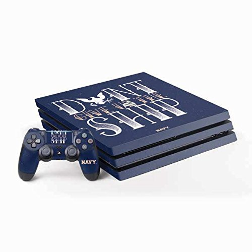 (US Navy PS4 Pro Bundle Skin - Dont Give Up The Ship)