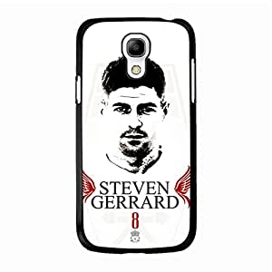 Personalized FC Liverpool Steven Gerrard Mobile Cover Holographic Element Samsung Galaxy S4 Mini Phone Accessory
