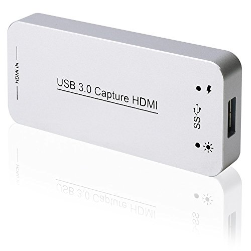 DIGITNOW! USB 3.0 HDMI Game Capture Card,Full HD 1080p 60FPS Video To...
