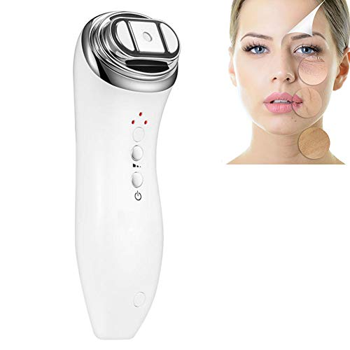 RENDONG Photon Therapy Machine LED Beauty Bipolar RF Radio Frequency Lifting Face Skin Care Massager Mini Hifu Anti Wrinkle Tightening Device