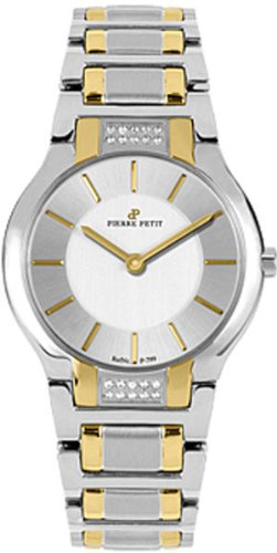 Pierre Petit Women's P-799J Serie Laval Two-Tone Stainless-Steel Diamond Watch