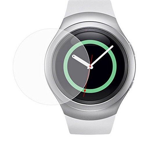 Tempered Glass Screen Protector for Samsung Gear S2 Smart Watch - 8