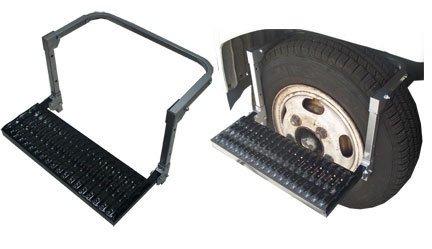 pTruck SUV RV Van Big Rig Trailer Folding Ladder 27-1/4