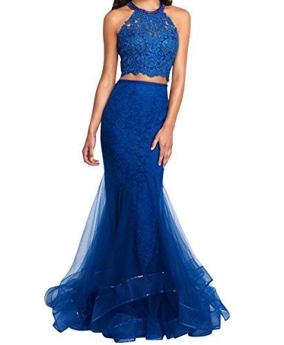 Lang Partykleider Royal Blau Festlichkleider Abschlussballkleider Promkleider mia Brau Jugendweihe Abendkleider Etuikleider La Kleider gE0xP1q