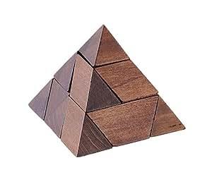 Puzzle Pirámide de madera Puzzling